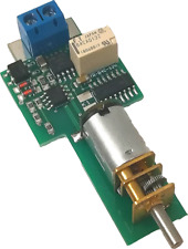 LGB Spur G Motorweichenantrieb für analog/digital mit Decoder, Herzstückrelais