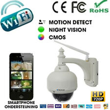 HD 720P OUTDOOR WIFI WIRELESS CCTV IP CAMERA 3X Optical Zoom IR CUT Pan/Tilt New