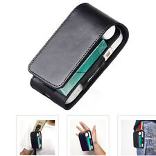 Black Electronic Cigarette Leather Pouch Bag Case Box Holder Storage For iQOS