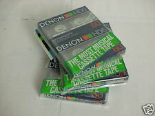 Denon HD6-60 Pack of Two Audio Cassette Tapes  Made in Japan