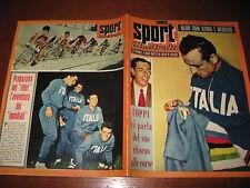 SPORT ILLUSTRATO GAZZETTA 1957/31 BALDINI FAUSTO COPPI CICLISMO