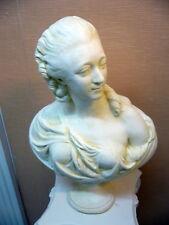 buste comtesse du barryPATINE staff (platre armé) H50cm
