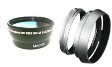 Wide Lens +Lens Hood with Adapter Ring Tube for Fuji FujiFilm FinePix X100 X100s