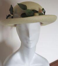 Mr. John Classic New York Paris Flower Straw Hat