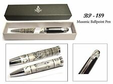 Beautiful Masonic Pen With Gift Box (Buy 2 or more & get a Key chain free)