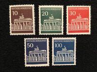 BRD  Bund   Brandenburger  Tor  Michel Nr. 506-510  postfrisch