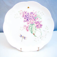 "Lenox BUTTERFLY MEADOW Accent Luncheon Plate(s) ""Orange Sulphur"" EXCELLENT"
