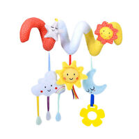Stroller and Hanging Toy for Baby Car Seat Crib Travel Sensory Learning Rattles