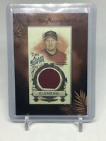 2019 Topps Allen And Ginter Roger Clemens Framed Mini Relic Game Used Astros