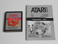 Realsports Football / Soccer für Atari 2600 (mit Anleitung)