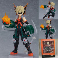 Anime My Hero Academia Bakugou katsuki Figma #443 Figure Toy In Box