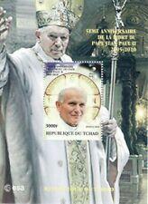 Chad - Pope John Paul II - Stamp Souvenir Sheet - 3B-087