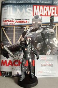 Marvel Movie Collection #64 War Machine Figurine Fr (Captain America: Civil War)