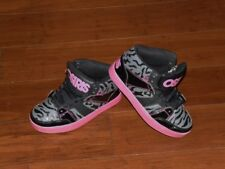Girls OSIRS Skate Shoes Size 5.5 CONVOTY MID Black Pink Zebra Print