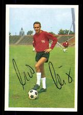 Udo Nix Hannover 96 Bergmann Sammelbild 1966-67 Original Signiert+ A 115975