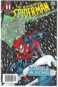 1996 SENSATIONAL SPIDER-MAN #1 RARE Australian APV AUD Aus Variant Marvel Comics