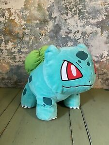 Build A Bear Pokemon - BULBASAUR - Plush Soft Toy Working Sounds RARE RETIRED