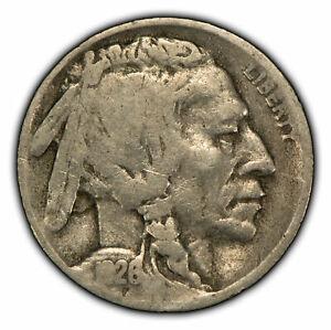 1926-S 5c Indian Head Buffalo Nickel - Semi-Key Date - SKU-Z1006