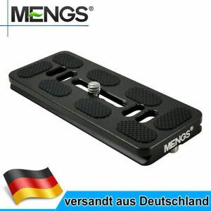 MENGS PU-100 100mm Schnellwechselplatte Aluminiumlegierung Für DSLR Arca-Swiss