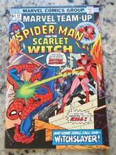 21-0662: Marvel Team-Up w/ SCARLET WITCH # 41, 1976, VF 8.0!