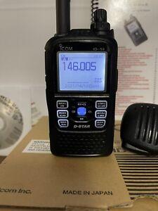 ICOM ID-51A DStar Handheld Ham Radio includes extras