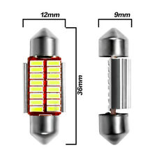 12V 36MM LED Bombilla C5W C10W Super Brillante luz de coche interior 4014 Lámpara de lectura caliente