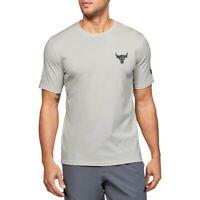 Under Armour Men's Project Rock Snake Short Sleeve Shirt Dwayne Johns1351581-110