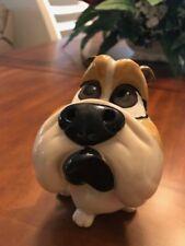 Polyresin Dog Bank- Bulldog