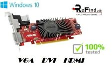 SCHEDA VIDEO GRAFICA PCI EXPRESS ASUS RADEON HD6450 1GB GDDR3 HDMI DVI VGA