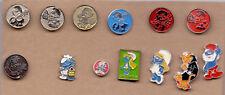 13 pins pin badge  anstecknadel abzeichen SMURFS AND SMURFETTE  The Smurfs
