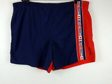 SPEEDO Mens XL SwimSuit Trunks World Flags VINTAGE USA Patriotic 4th Of July