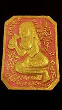Thai amulet love charming female Goddess wealth windfall Maha Saney powerful