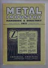 Engineering: Louis Cassier Co. Ltd 1951; Metal Industry Handbook & Directory