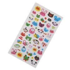 3D Puffy Bubble Sticker Scrapbook Lovely Zoo Animal Birthday Gift Collection