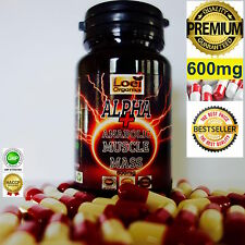 60 STRONGEST ANABOLIC MASS BODYBUILDING SUPPLEMENT PURE BIG MUSCLE GAIN TRIBULUS