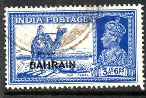 Bahrain GVI 1938  3a6p used