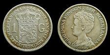 Netherlands - 1 Gulden 1914 patina
