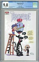 Tiggomverse #1 CGC 9.8 Venom #23 Edition Skottie Young Homage 2020