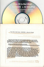 MATMOS/DJ ECLIPSE This CD Is Not Nice - Emergency Edition 1999 US promo only CD
