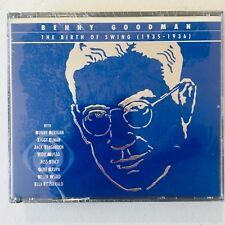 The Birth of Swing (3-Disc CD Box Set, Nov. 2001) Bluebird RCA Benny Goodman NEW