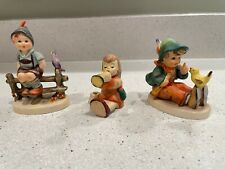 Goebel Hummel Figurines - Wayside Harmony, Joyous Noise/Candle, Singing Lessons