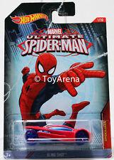 Hot Wheels Marvel Ultimate Spider-Man 2015 Sling Shot 1/64 Rare Die-Cast Car