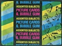 1977 TOPPS FOOTBALL UNOPENED (4-CARD) FUN WAX PACK W-(FRAN TARKENTON) ON-(BACK)!