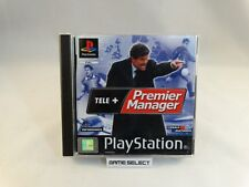 TELE+ PREMIER MENAGER FOOTBALL PLAYSTATION 1 PS1 PS2 PS3 PAL ITALIANO COMPLETO