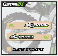 KAWASAKI KXF 250 450 2009-2018 CLEAR SWING ARM DECAL / SWINGARM STICKER GRAPHIC