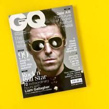GQ Magazine British September 2017 Liam Gallagher OASIS Dele Alli NEW