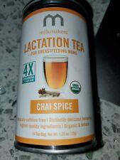 Nouvelle annonce Milkmakers Organic Lactation Tea - 14 CHAI SPICE 14 Tea Bags NEW SEALED