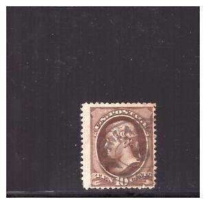 US SC.150 1870 .10 CENT THOMAS JEFFERSON USED #4 BBPG7