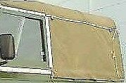 NEW 90 Full Land Rover 84-03 Canvas Hood Rear Window Only (2 colour options)