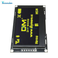 "2.42"" inch 128X64 SSD1309 Yellow OLED Display Module SPI I2C Serial For Arduino"